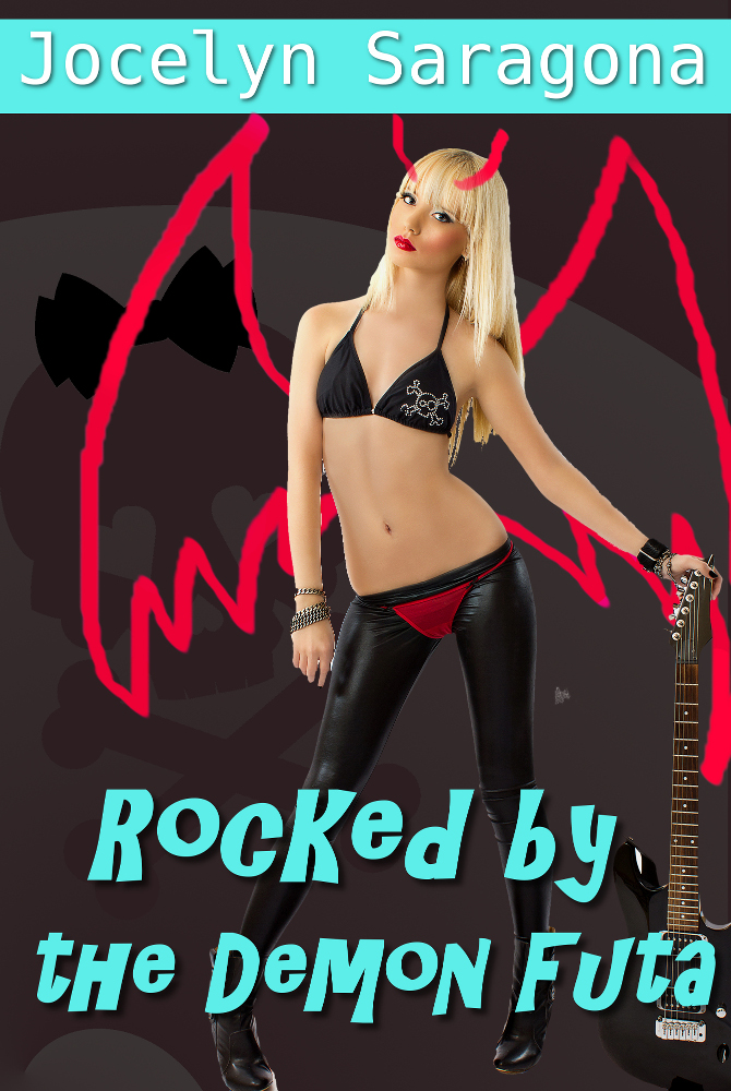 Book Cover: Rocked by the Demon Futa